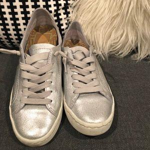 Dolce Vita Silver Sneakers